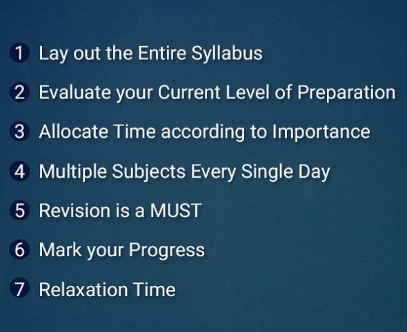 study timetable online