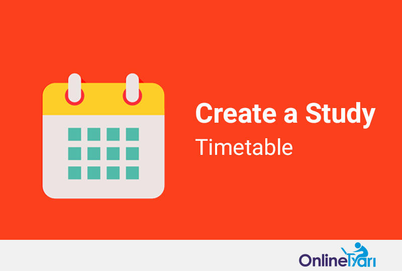 Create-Study-Timetable