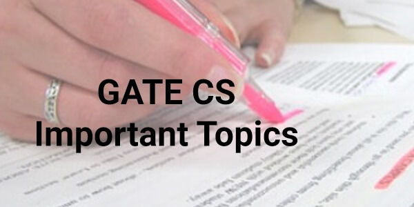GATE-Computer-Science-Engineering-Important-Topics-2016