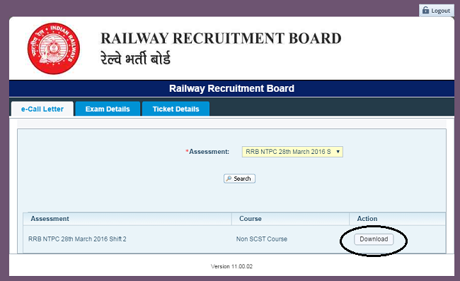 RRB-NTPC-Download-Admit-Card-Call-Letter-Step3
