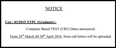 Railways-RRB-NTPC-Exam-Dates-2016