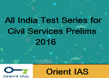 UPSC IAS Civil Services Examination All India Test Series 2016