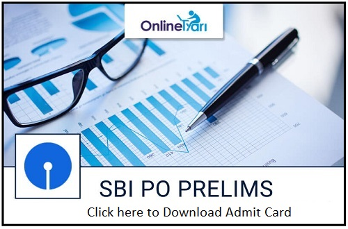 Download SBI PO Admit Card Call Letter
