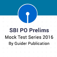 SBI PO Mock Test Series Guider Publication