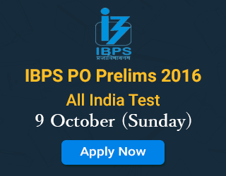 IBPS-PO-Prelims-2016-All-India-Test-9-October-(Sunday)