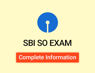 SBI Specialist Officer Exam