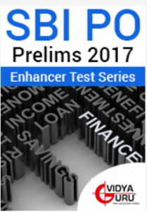 SBI PO Prelims 2017 Enhancer Test Series
