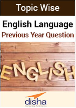 English Language Topic Wise Previous Year Question