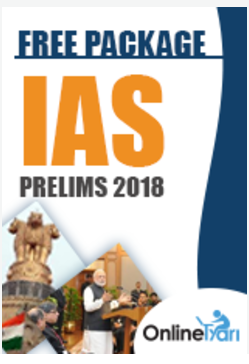 IAS Prelims 2018 - Free Package