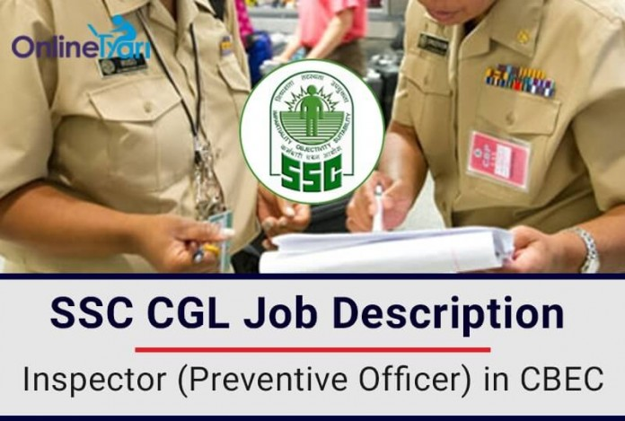 Inspector-Preventive-Officer-CBEC-Job-Profile