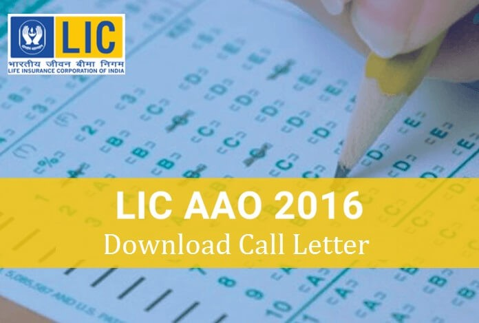 LIC-AAO-Admit-Card-Download-2016