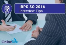 IBPS SO Interview Questions
