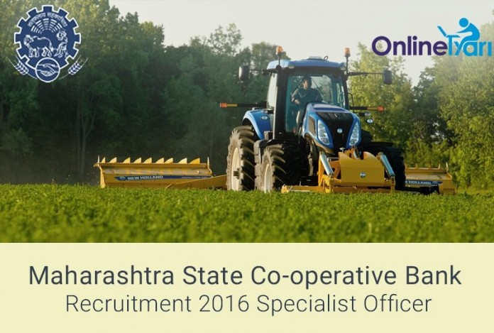 Maharashtra State Bank Specialist Officer Recruitment 2016