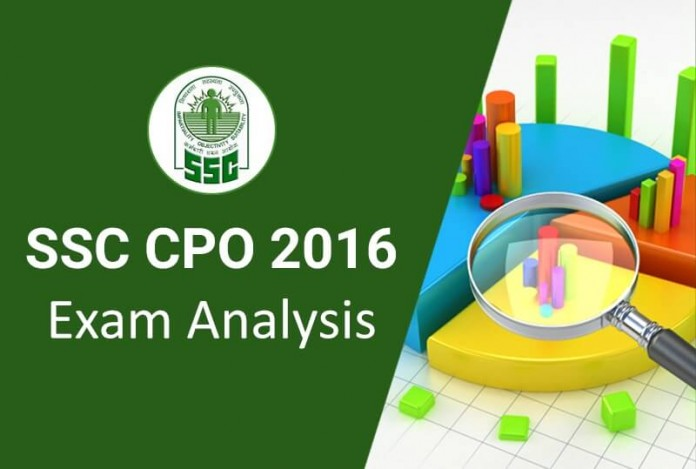 SSC-CPO-SI-Exam-Analysis-Expected-Cut-off-2016