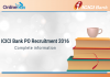 ICICI Bank PO Recruitment 2016