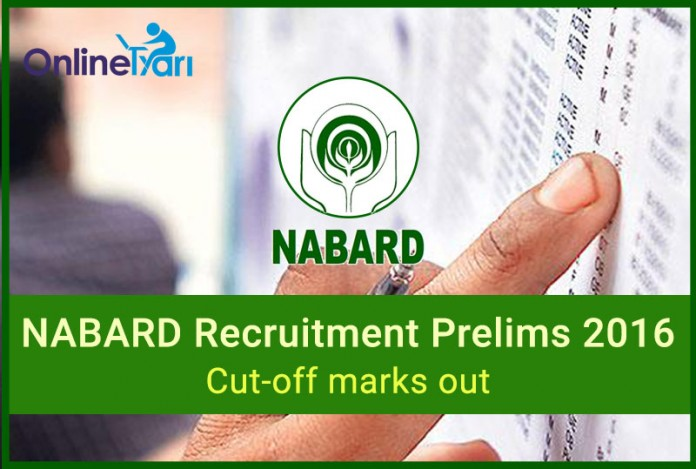 NABARD Prelims Cut Off Marks (Official)