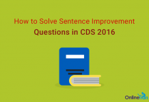How to Solve Sentence Improvement Questions in CDS 2016