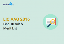 LIC-AAO-Result-2016-Merit-List