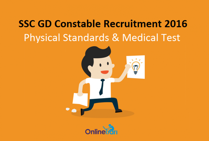 SSC-GD-Constable-Physical-Standards-Medical-Test-2016