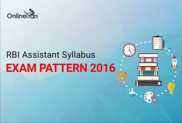 RBI Assistant Syllabus Exam Pattern 2016
