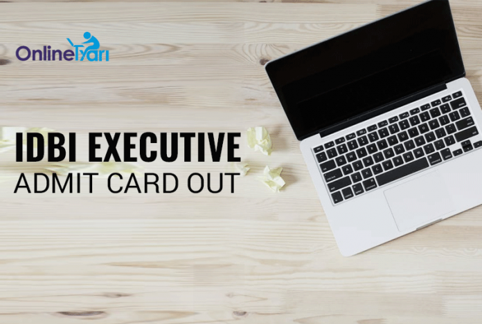 IDBI Executive Admit Card 2016: Download Call Letter