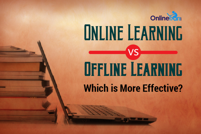 Online Learning vs Offline Learning: Which is more Effective?