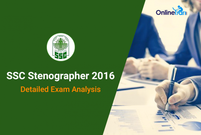 SSC-Stenographer-2016-Exam-Analysis-2016