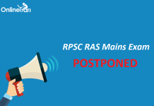 RPSC RAS Mains Exam Postponed: Check Official Notification
