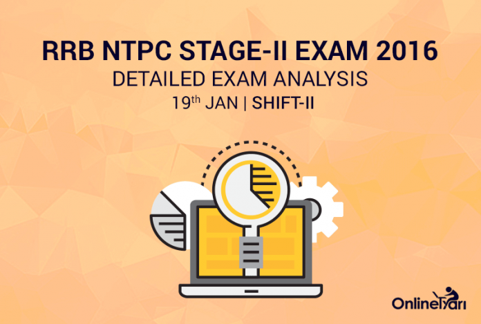 RRB NTPC Mains 19th January Exam Analysis, Review (2nd Shift)