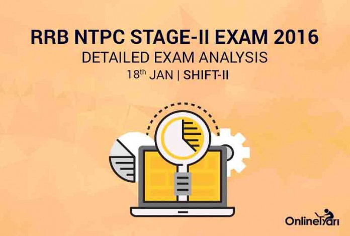 RRB NTPC Mains 18th January Exam Analysis, Review ( 2nd Shift)