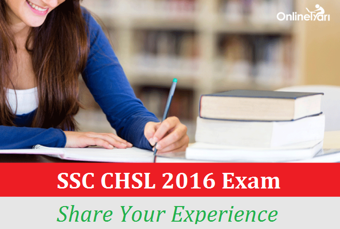 SSC CHSL 2016 Exam Review (8 January): Share your Experience