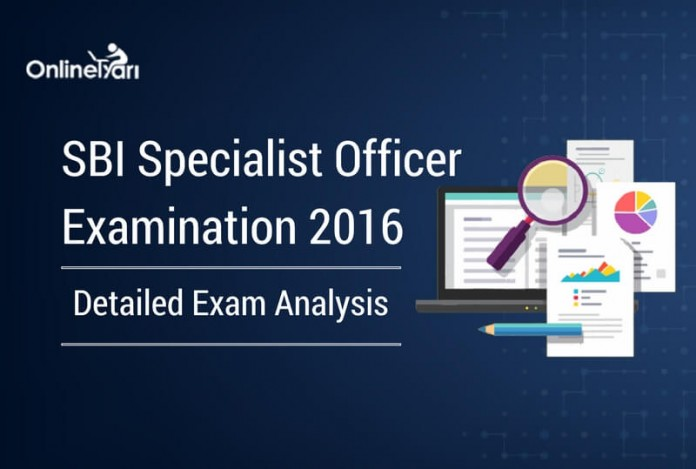SBI Specialist Officer Exam Analysis 2016 (All Shifts) - Complete Review