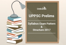 UPPSC Prelims Syllabus Exam Pattern & Structure 2017