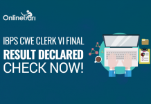 IBPS Clerk Mains Result 2016 Declared: Check Here!