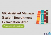 GIC Assistant Manager (Scale-I) Recruitment 2017