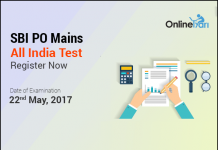 SBI PO Mains All India Test (AIT)| May 22, 2017: Register Now