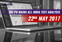 SBI PO Mains All India Test Analysis: 22nd May 2017