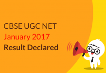 CBSE UGC NET Jan 2017 Result Declared: Check Now
