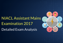 NIACL Assistant Mains Exam Analysis, Paper Review: 23rd May 2017