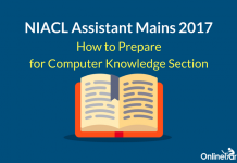 How to Prepare for NIACL Assistant Mains Computer Knowledge Section
