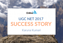 UGC NET Success Story 2017: Karuna Kumari