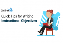 Quick Tips for Writing Instructional Objectives: Read Here