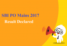 SBI PO Mains 2017 Result Declared: Check if you have been shortlisted!