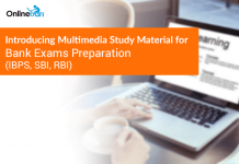 Introducing Multimedia Study Material for Bank Exams Preparation (IBPS, SBI, RBI)