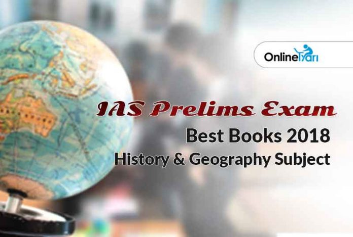 IAS Exam Best Books: History & Geography Subject Exam Guide
