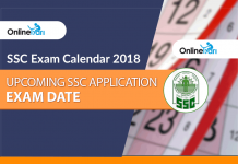 SSC Exam Calendar 2018, Upcoming SSC Application, Exam Date