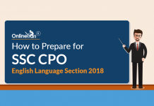 How to Prepare for SSC CPO English Language Section 2018