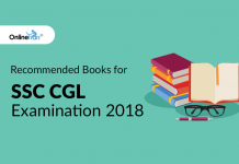 Recommended Books for SSC CGL Examination 2018