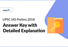 UPSC IAS Prelims 2018 Answers With Explanation (All Sets)