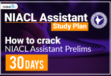 How to crack NIACL Assistant Prelims in 30 Days